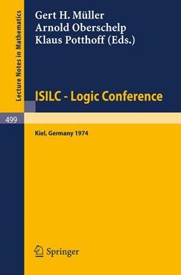 Abbildung von Müller / Oberschelp / Potthoff   ISILC - Logic Conference   1975   Proceedings of the Internation...   499