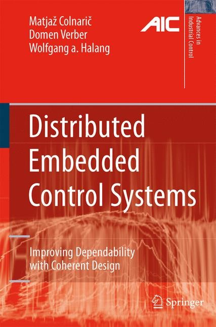 Abbildung von Colnaric / Verber | Distributed Embedded Control Systems | 1st Edition. | 2007