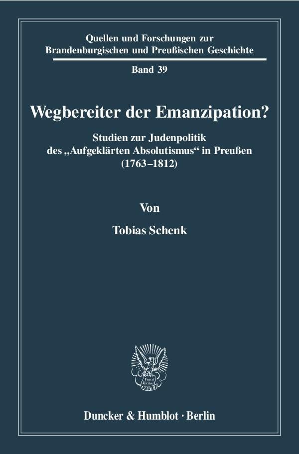 Abbildung von Schenk | Wegbereiter der Emanzipation? | 2010