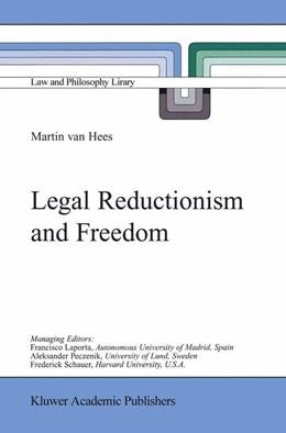 Abbildung von van Hees | Legal Reductionism and Freedom | 2002 | 47