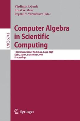 Abbildung von Gerdt / Mayr / Vorozhtsov   Computer Algebra in Scientific Computing   2009