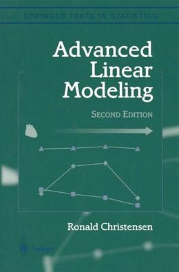 Abbildung von Christensen | Advanced Linear Modeling | 2001 | Multivariate, Time Series, and...