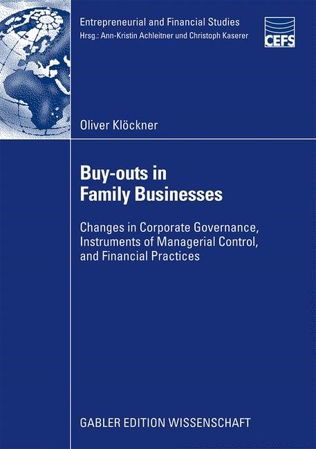 Abbildung von Klöckner | Buy-outs in Family Businesses | 2009