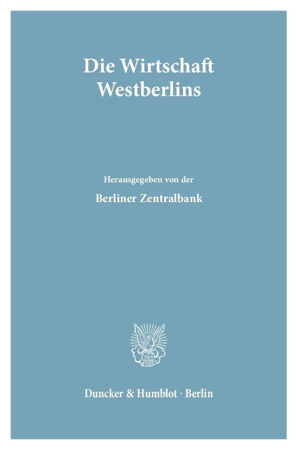 Abbildung von Die Wirtschaft Westberlins. | 1949