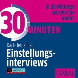 Abbildung von List | 30 Minuten Einstellungsinterviews | 2009 | 2