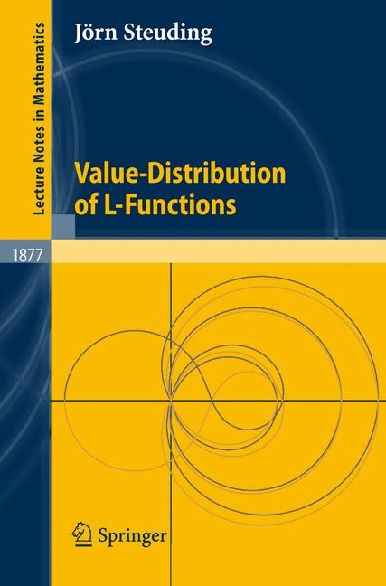 Abbildung von Steuding | Value-Distribution of L-Functions | 2007