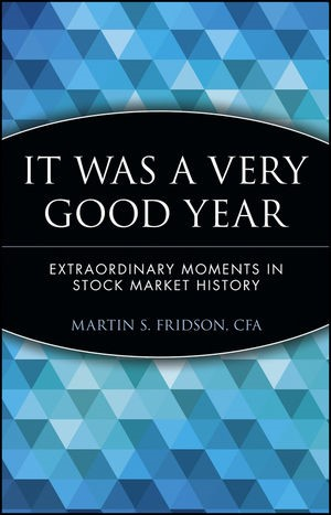Abbildung von Fridson | It Was a Very Good Year | 2000