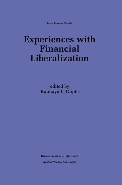 Abbildung von Gupta | Experiences with Financial Liberalization | 1997