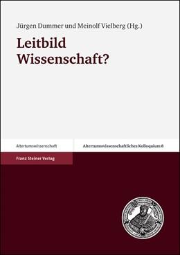 Abbildung von Dummer / Vielberg | Leitbild Wissenschaft? | 2003 | 8