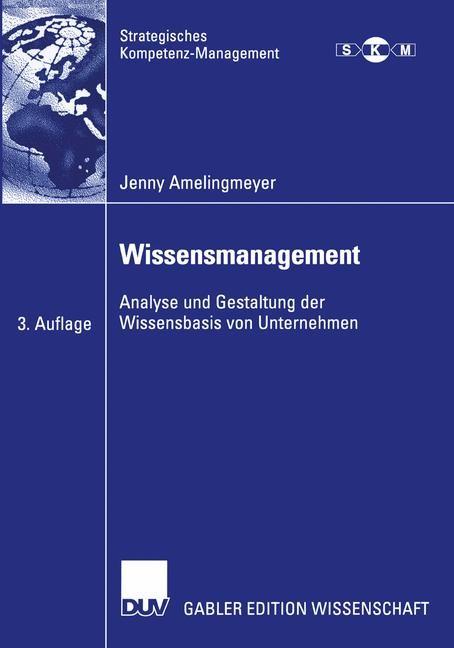 Abbildung von Amelingmeyer   Wissensmanagement   3. Aufl.   2004