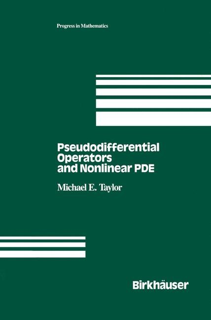 Abbildung von Taylor   Pseudodifferential Operators and Nonlinear PDE   1991