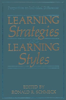 Abbildung von Schmeck | Learning Strategies and Learning Styles | 1988