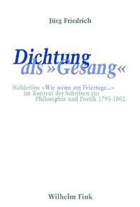 Abbildung von Friedrich | Dichtung als