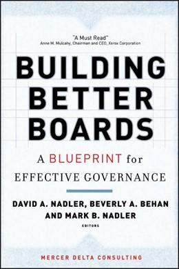 Abbildung von Nadler / Behan | Building Better Boards | 2006 | A Blueprint for Effective Gove...