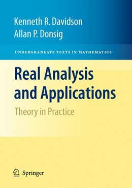 Abbildung von Davidson / Donsig | Real Analysis and Applications | 2009 | Theory in Practice