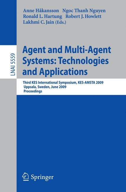 Abbildung von Hakansson / Hartung | Agent and Multi-Agent Systems: Technologies and Applications | 2009