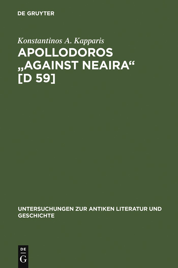 Abbildung von Kapparis   Apollodoros
