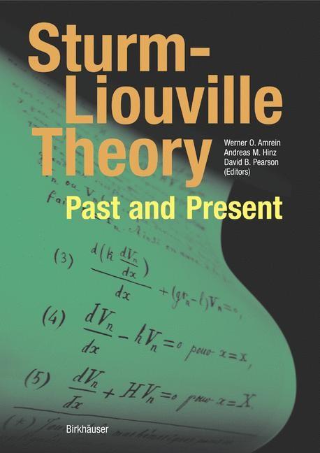 Abbildung von Amrein / Hinz / Pearson | Sturm-Liouville Theory | 2005