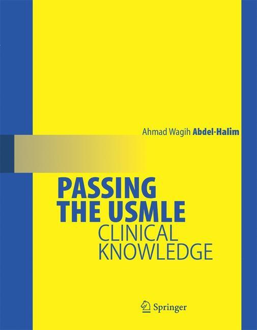 Abbildung von Abdel-Halim | Passing the USMLE | 2008