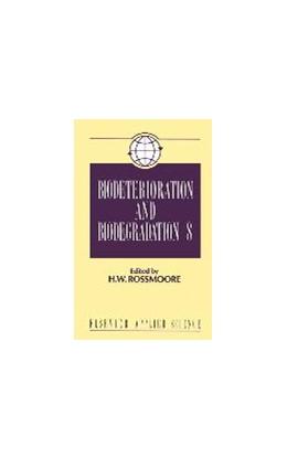 Abbildung von Rossmoore | Biodeterioration and Biodegradation | 1991