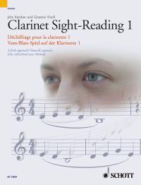 Abbildung von Vinall / Kember   Clarinet Sight-Reading 1   2006