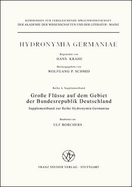Abbildung von Große Flüsse auf dem Gebiet der Bundesrepublik Deutschland | 2006