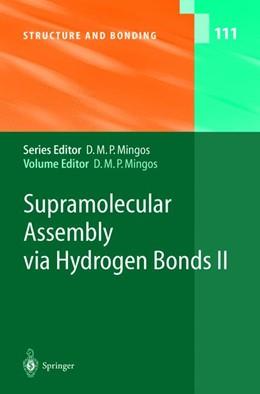 Abbildung von Mingos | Supramolecular Assembly via Hydrogen Bonds II | 2004 | 111