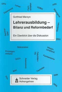 Abbildung von Merzyn | Lehrerausbildung - Bilanz und Reformbedarf | 2., veränd. Neuaufl. | 2004