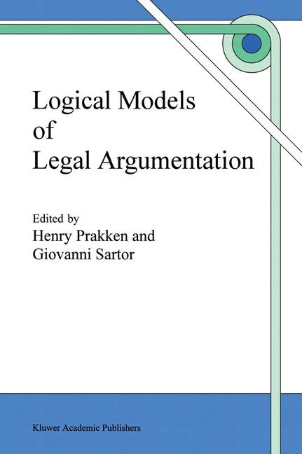 Abbildung von Prakken / Sartor | Logical Models of Legal Argumentation | 1996