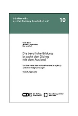 Abbildung von Göbel / Hesse / Lauterbach | Die berufliche Bildung braucht den Dialog mit dem Ausland | 1998 | Der Internationale Fachkräftea... | 10