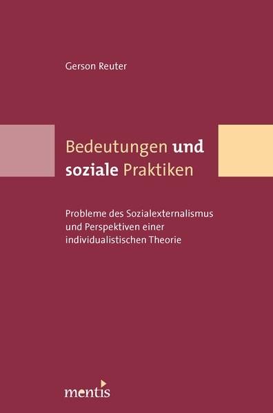 Abbildung von Reuter | Bedeutungen und soziale Praktiken | 2006