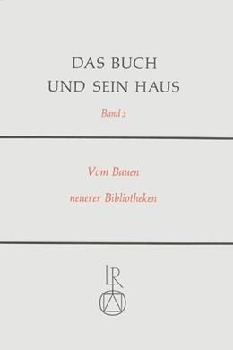 Abbildung von Fuhlrott / Haller | Das Buch und sein Haus | 1990