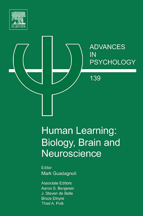 Abbildung von Benjamin / de Belle / Etnyre / Polk | Human Learning: Biology, Brain, and Neuroscience | 2008