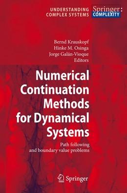 Abbildung von Krauskopf / Osinga / Galan-Vioque | Numerical Continuation Methods for Dynamical Systems | 1st Edition | 2007 | Path following and boundary va...