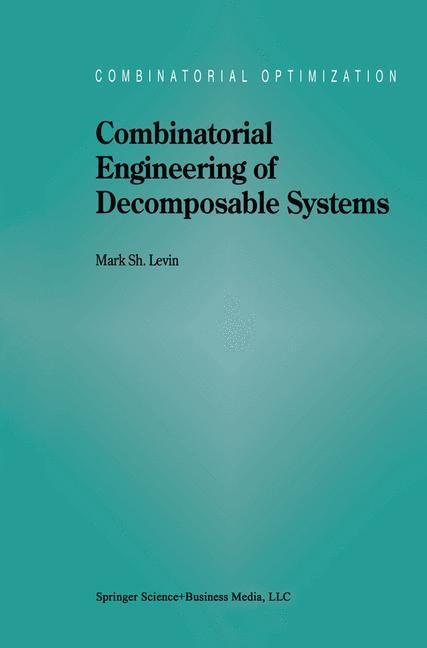 Abbildung von Levin   Combinatorial Engineering of Decomposable Systems   1998