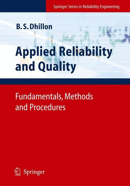 Abbildung von Dhillon | Applied Reliability and Quality | 1st Edition. | 2007