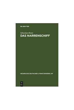 Abbildung von Brant / Lemmer | Das Narrenschiff | 4th enl. Edition | 2004