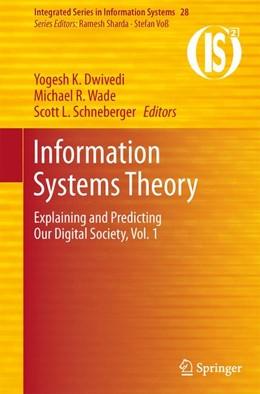 Abbildung von Dwivedi / Wade | Information Systems Theory | 1. Auflage | 2011 | 28 | beck-shop.de
