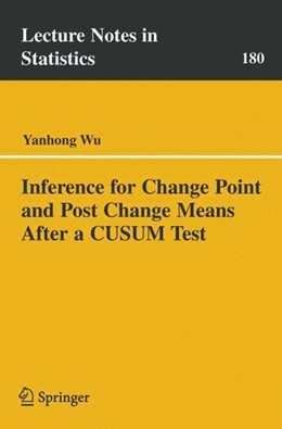 Abbildung von Wu | Inference for Change Point and Post Change Means After a CUSUM Test | 2005 | 180