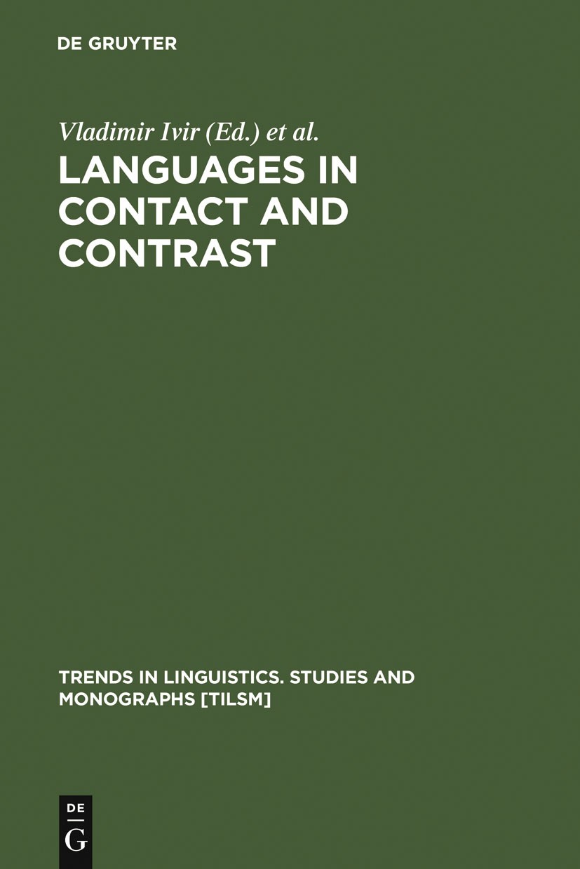 Abbildung von Ivir / Kalogjera | Languages in Contact and Contrast | 1991 | 1991