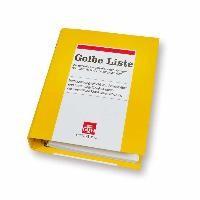 Gelbe Liste   ABDA   Loseblattwerk mit 87. Aktualisierung (Cover)