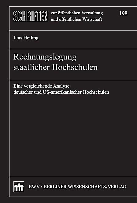 Abbildung von Heiling | Rechnungslegung staatlicher Hochschulen | 2007
