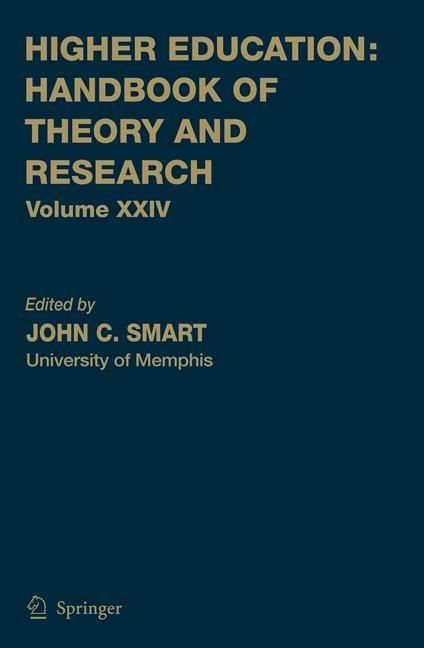 Abbildung von Smart   Higher Education: Handbook of Theory and Research   2009