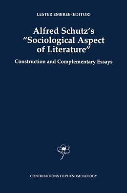 Abbildung von Embree | Alfred Schutz's Sociological Aspect of Literature | 1997 | Construction and Complementary... | 31