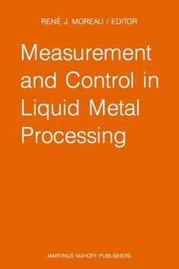Abbildung von Moreau | Measurement and Control in Liquid Metal Processing | 1987 | Proceedings 4th Workshop held ...