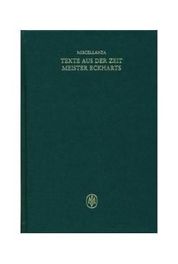 Abbildung von Beccarisi | Miscellanea / Texte aus der Zeit Meister Eckharts | 2004