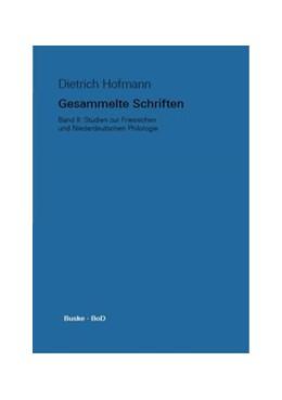 Abbildung von Kreutzer / Walker / Wilts | Gesammelte Schriften / Studien zur Friesischen und Niederdeutschen Philologie | 2014