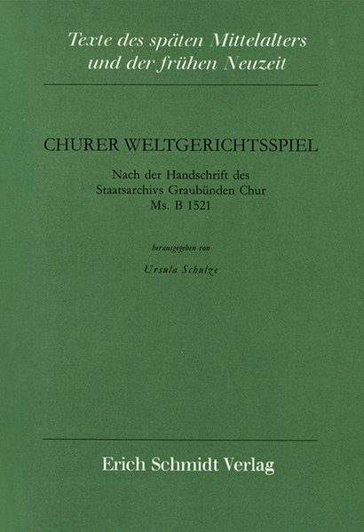 Abbildung von Schulze | Churer Weltgerichtsspiel | 1993