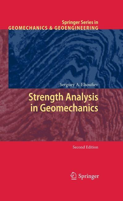 Abbildung von Elsoufiev | Strength Analysis in Geomechanics | 2009
