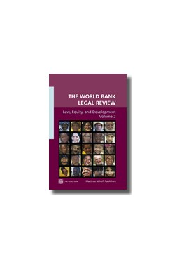Abbildung von The World Bank Legal Review, Volume 2: Law, Equity and Development | 2006 | Law, Equity and Development | 2